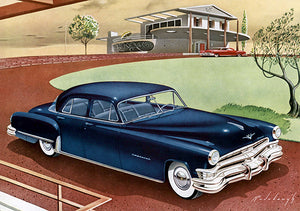 1951 Chrysler Imperial Six Passenger Sedan - Promotional Advertising Poster