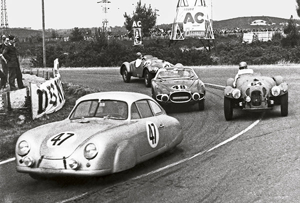 1952 Porsche 356 SL -  Le Mans - Promotional Photo Poster