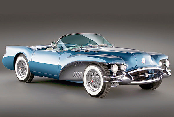 1954 Buick Wildcat II Concept Car - Promotional Photo Poster