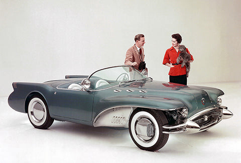 1954 Buick Wildcat II Concept Car #4 - Promotional Photo Poster