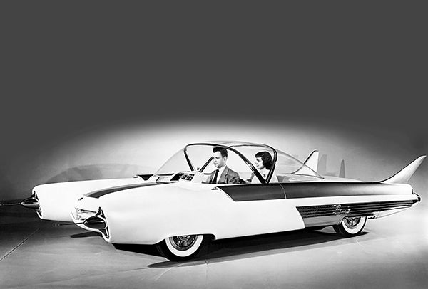 1954 Ford FX-Atmos Concept Car - Promotional Photo Poster