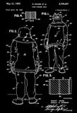 1955 - Fire Fighter Suit - R. Grubb - Patent Art Poster
