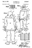 1955 - Fire Fighter Suit - R. Grubb - Patent Art Mug