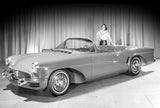1955 Buick Wildcat III Concept Car - Promotional Photo Poster