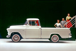 1955 Chevrolet Cameo Pick-Up - Promotional Photo Poster