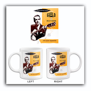 1956 Guild Guitars - Catalog Cover Poster Mug