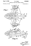 1956 - Lockheed Vertically Rising Road Operable Aircraft - N. C. Price - Patent Art Mug