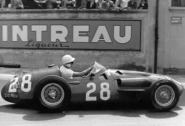 1956 Maserati 250F - Stirling Moss - Photo Poster #2