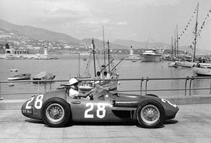 1956 Maserati 250F - Stirling Moss - Photo Poster