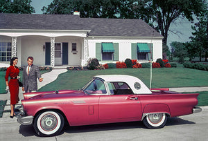1957 Ford Thunderbird - Promotional Photo Poster