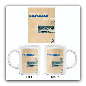 1957 Sahara Cup Boat Race - Lake Mead Nevada - Program Cover Mug