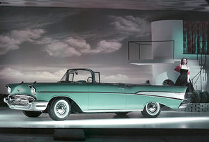 1957 Chevrolet Bel Air Convertible - Promotional Photo Poster