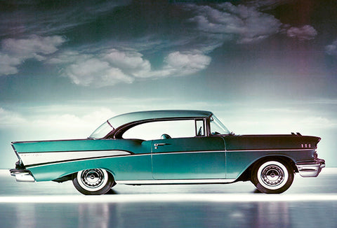 1957 Chevrolet Bel Air Sport Coupe - Promotional Photo Poster