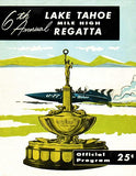 1958 Mile High Regatta Boat Race - Lake Tahoe - Program Cover Mug