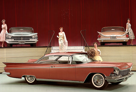 1959 Buick Invicta Hardtop - Promotional Photo Poster
