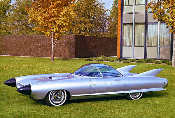 1959 Cadillac Cyclone Concept Car #2 - Promotional Photo Poster