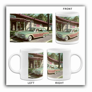 1960 Ford Country Squire Station Wagon - Promotional Photo Mug
