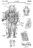 1960 - Inflatable Protective Suit For High Altitude Flight #2 - C. P. Krupp - Patent Art Mug