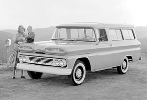 1960 Chevrolet Suburban - Promotional Photo Poster