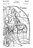 1962 - Mobile Space Suit - C. P. Lent - Patent Art Mug
