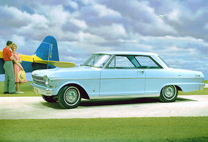 1962 Chevrolet Chevy II Nova Sport Coupe - Promotional Photo Poster