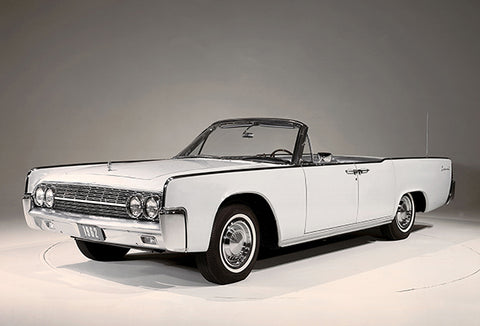 1962 Lincoln Continental Convertible - Promotional Photo Poster