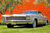 1963 Buick Riviera Silver Arrow I Car - Promotional Photo Poster