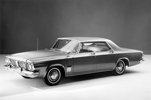 1963 Chrysler New Yorker 4 Door - Promotional Photo Poster