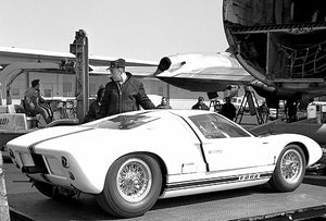 1963 Ford GT40 Prototype #2 - Promotional Photo Poster