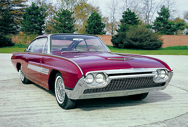 1963 Ford Thunderbird Italien Concept Car Promotional Photo Poster