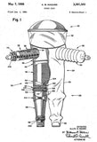 1964 - Space Suit - A. B. Hazard - Patent Art Mug
