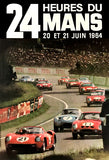 1964 24 Hours Of Le Mans - Promotional Advertising Poster