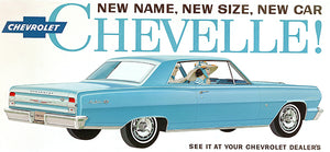 1964 Chevrolet Chevelle Malibu SS - Promotional Advertising Poster