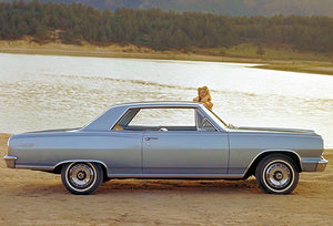 1964 Chevrolet Chevelle Malibu SS - Promotional Photo Poster
