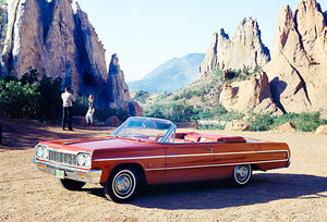 1964 Chevrolet Impala Convertible - Promotional Photo Poster