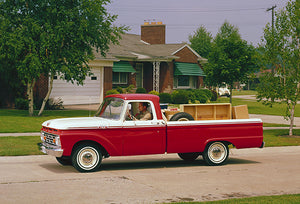 1964 Ford F-100 Pickup - Promotional Photo Poster