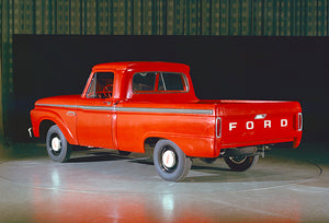 1964 Ford F-100 Truck - Promotional Photo Magnet