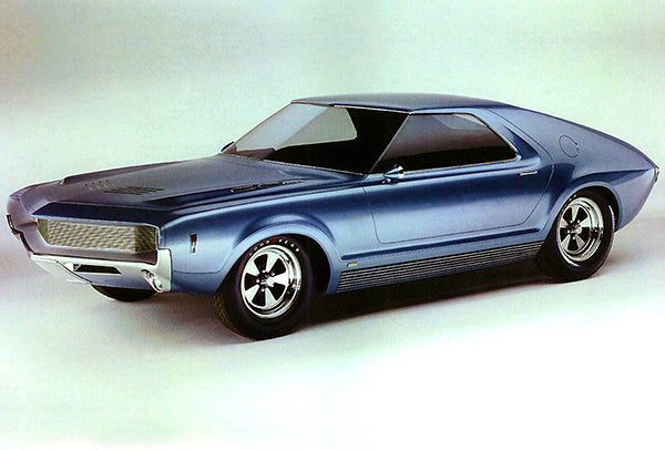 1965 AMC AMX I Concept Car - Promotional Photo Poster