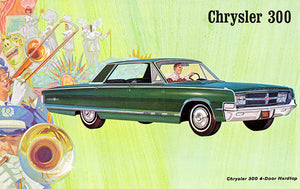 1965 Chrysler 300 4-Door Hardtop - Promotional Advertising Poster