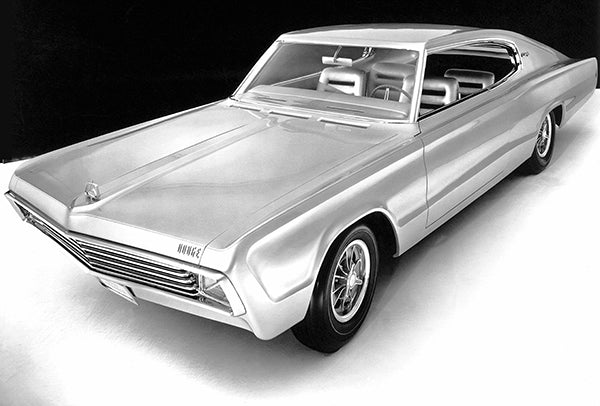 1965 Dodge Charger II Concept Car - Promotional Photo Poster