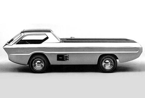 1965 Dodge Pickup Deora Concept Car - Promotional Photo Poster