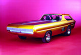 1965 Dodge Pickup Deora Concept Car #2 - Promotional Photo Poster