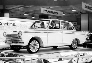 1965 Ford Cortina - UK Car Of The Year - Photo Poster