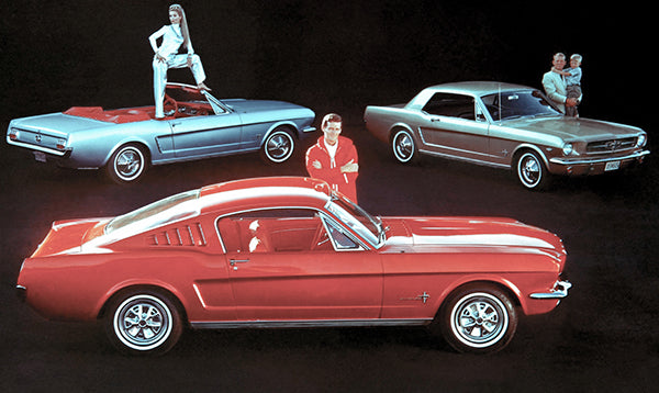 1965 Ford Mustang - Promotional Advertising Poster
