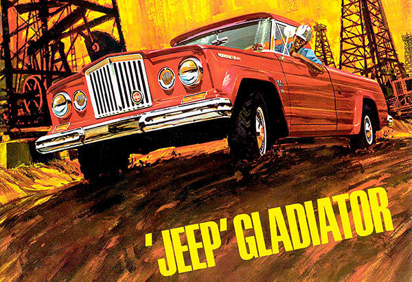 1965 Jeep Gladiator - Promotional Advertising Poster ...