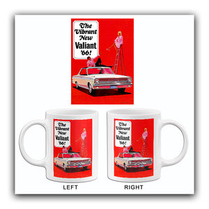 1966 Plymouth Valiant - Promotional Advertising Mug
