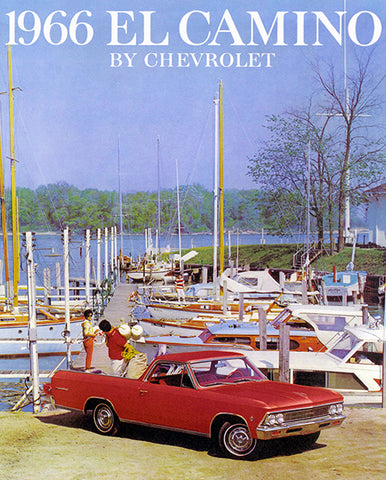 1966 Chevrolet El Camino - Promotional Advertising Poster