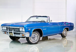 1966 Chevrolet Impala SS Convertible - Promotional Photo Poster