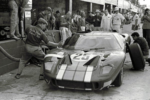 1966 Sebring - Ford GT40 - Alan Mann Racing - Photo Poster