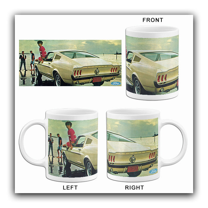 1967 Ford Mustang GT Fastback - Promotional Advertising Mug